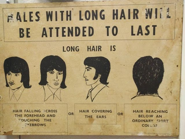 The Hair Hall of Fame: Males With Long Hair Will Be Attended to Last