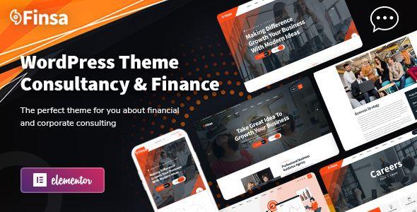 Finsa Consulting Agency Wordpress Theme Stylelib