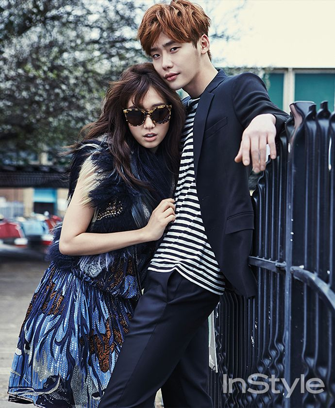 Lee Jong Suk and Park Shin Hye for Instyle - April 2015