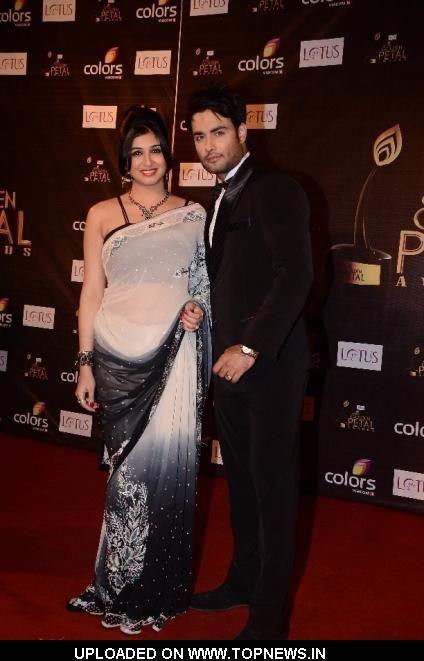 Vivian Dsena With his Wife