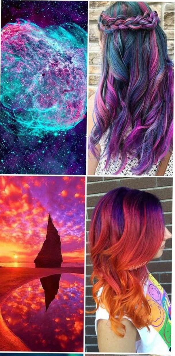 Galaxy hair 3