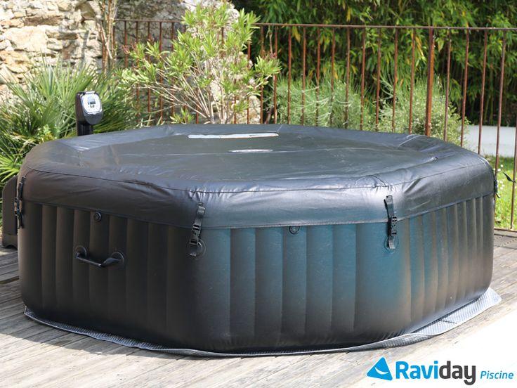 1000 id es sur le th me intex piscine tubulaire sur pinterest piscine tubul - Spa gonflable sur terrasse ...