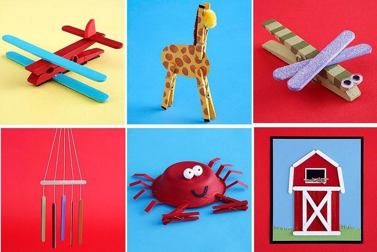 25+ bästa Pyssel glasspinnar idéerna på Pinterest Pyssel