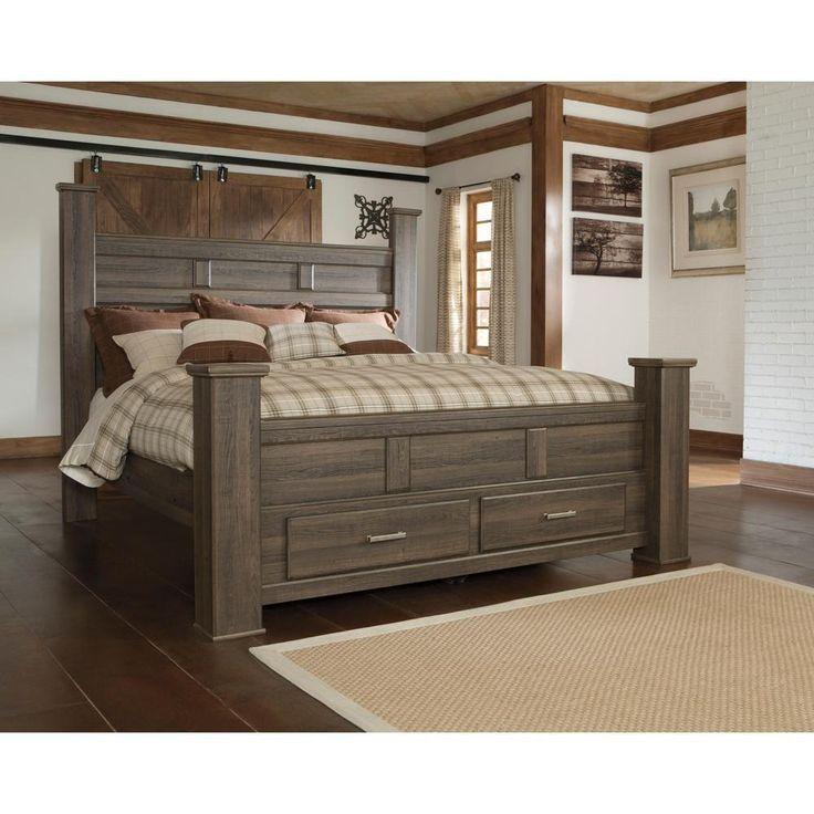King Storage Bed - B251