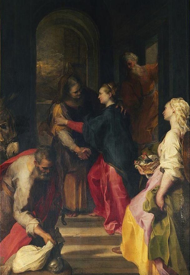 Federico Barocci - The Visitation. 1583-86. Santa Maria in Vallicella (Chiesa Nuova), Rome.