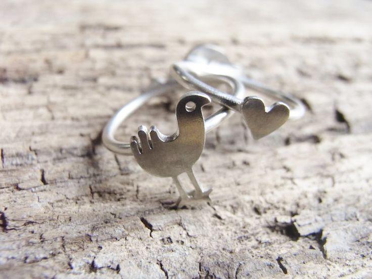 Pukeko Love Ring | Felt