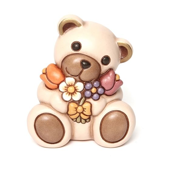 Teddy with flowers - Thun