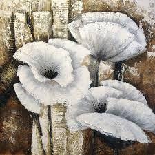 Bildergebnis für acryl schilderijen bloemen