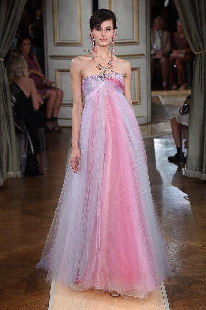Abiti Eleganti 2018 Armani.Armani Prive Fall 2018 Couture Fashion Show Abiti Alta Sartoria