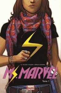 G. Willow Wilson et Adrian Alphona - Miss Marvel Tome 1 : Métamorphose. http://cataloguescd.univ-poitiers.fr/masc/Integration/EXPLOITATION/statique/recherchesimple.asp?id=185681840