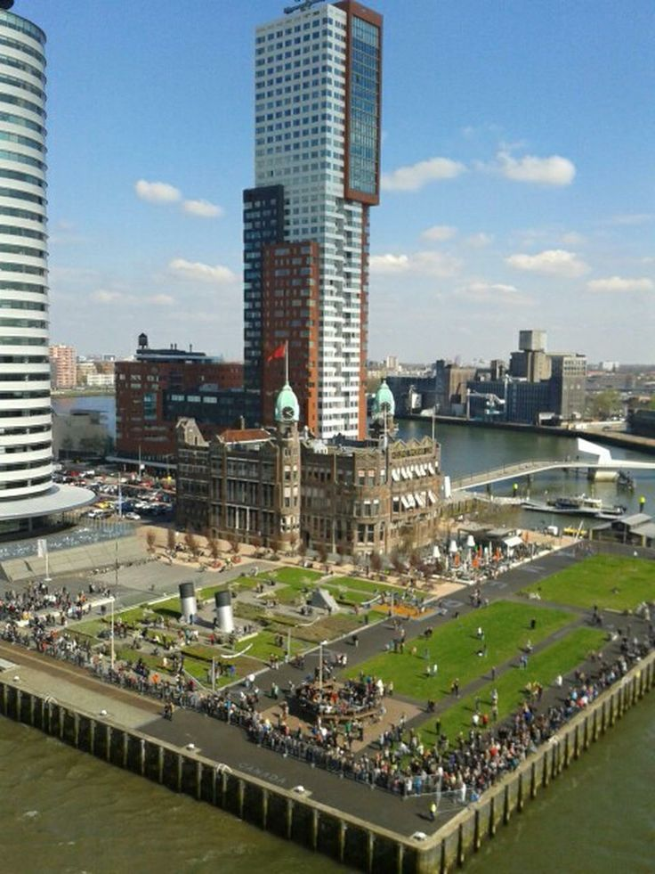 Wilhelminapier - Rotterdam, Zuid-Holland #Rotterdam #Netherlands