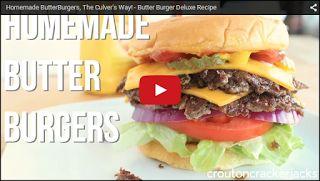 croutoncrackerjacks: Homemade Culver's ButterBurgers!!