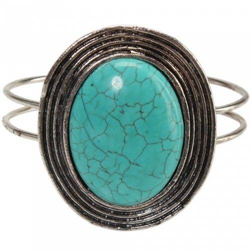 Great Circle Circle Turquoise Bracelet 11 | favwish - Jewelry on ArtFire
