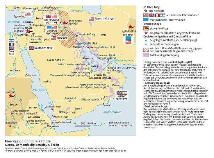 Iran-Irak-Krieg/Golfkrieg/kurdische Frage