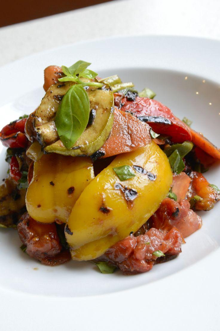 Izgara mevsim sebzeleri ile muhteşem bir aperatif: Verdure Alla Griglia