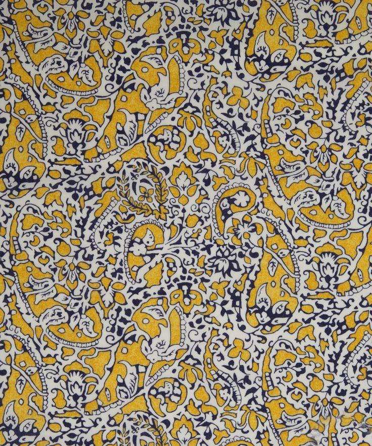 NEW SEASON! Liberty Art Fabrics Lagos Laurel C Tana Lawn | Classic Tana Lawn by Liberty Art Fabrics | Liberty.co.uk