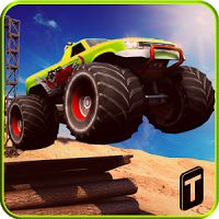 Monster Truck Rider 3D v 1.2 APK  Hack MOD Games Racing