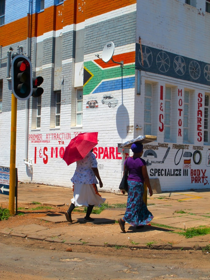 Sjoesjoe in Africa: Johannesburg