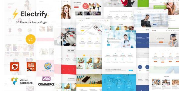 Electrify - Versatile Multipurpose WordPress Theme