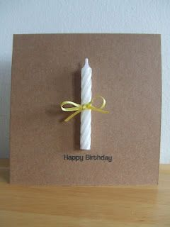 First Birthday Card. Creative Packaging.