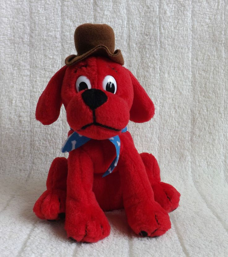 Red Toy Dogs : Small clifford the big red dog soft toy colour
