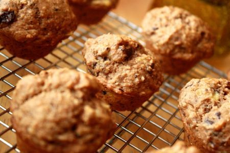 muffins banane chocolat - Soya & Chocolat: Nuggets, Vegan Desserts, Banana, De Chocolat