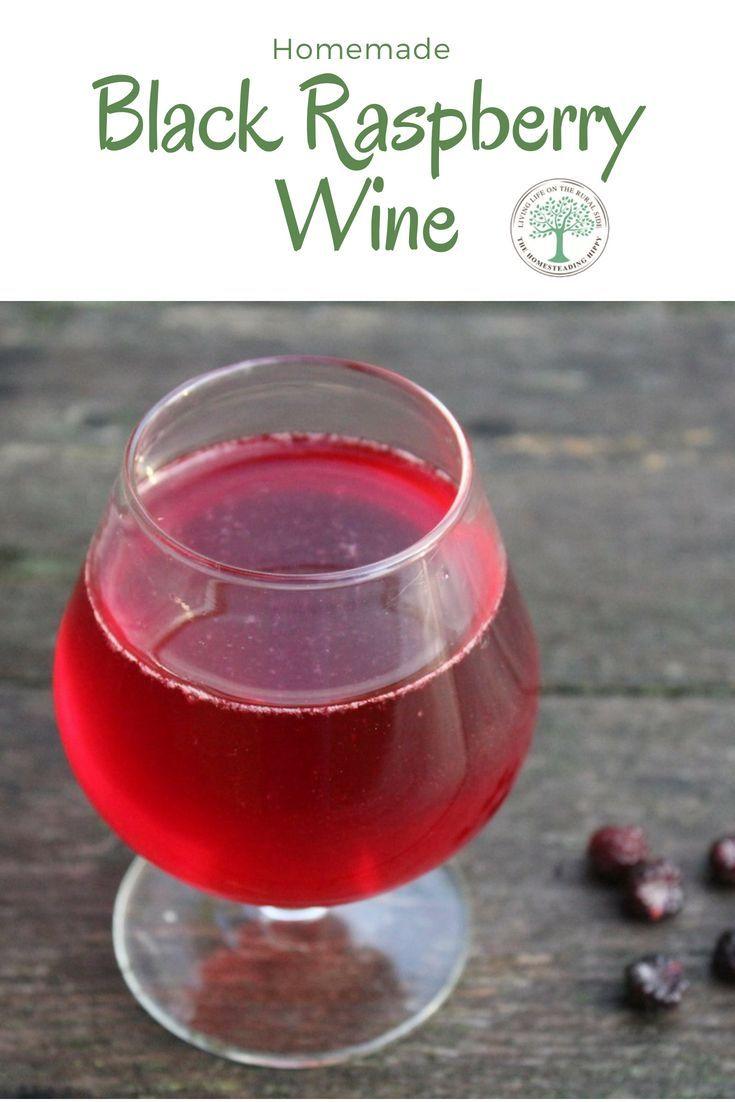 Black Raspberry Wine Recipe Black Raspberry Raspberry Non Alcoholic Wine