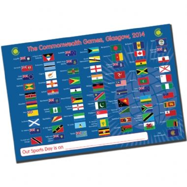 A2 Commonwealth Games 2014 Poster | At Primary Teaching