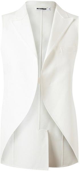 Jil Sander Tailored Cottontwill Waistcoat
