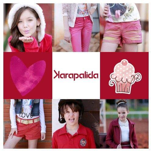 Vermelho em suas mais variadas tonalidades, para encher a nossa sexta-feira de cor!  #karapalida #inverno2015 #vermelho