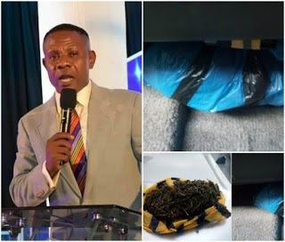 After dreaming of being arrested over drug possession US-based Nigerian pastor Wisdom Madukwe finds a bag of marijuana planted in his car. Read his story as he shared on Facebook below.  Though there are many devices in the hearts of men but only the council of the Lord shall prevail. Amen!!! Blessed be the Name of the Lord Who Has exposed the wicked plots of the enemy against my life and the Ministry. On Saturday my car mechanic picked my car for maintenance and he didnt return the car. In…