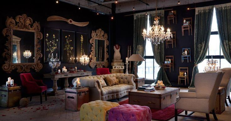 245 best room steampunk rooms knick knacks images on for Well known interior designers