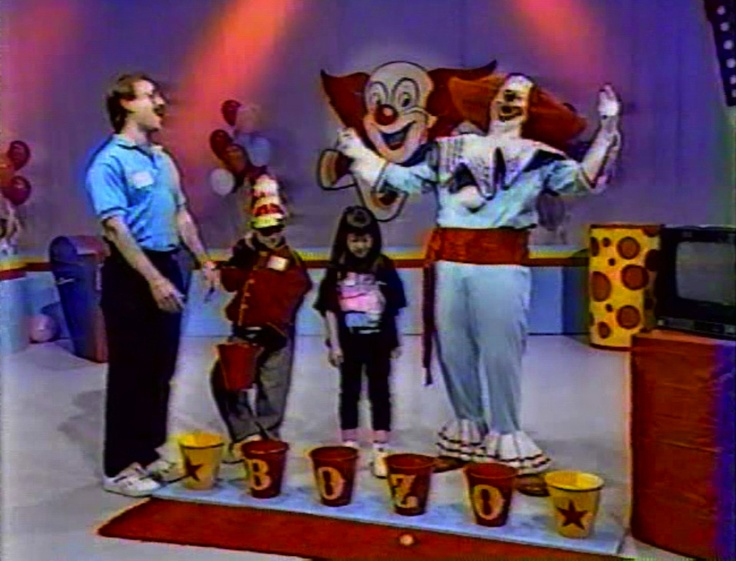 Every Sunday Morning - Bozo the Clown--- I saw the show live!