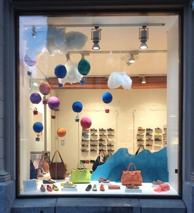 Window display for Zio by Laura Itkonen