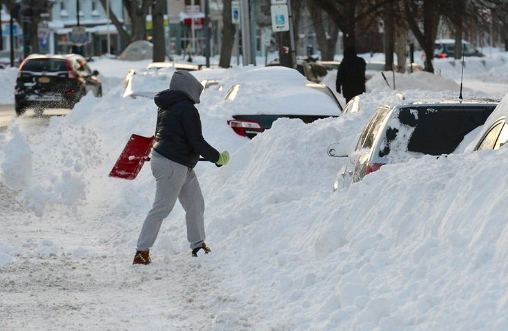 A new March 14 record for snowfall -- 17 inches -- was set Tuesday at Albany International Airport, the National Weather Service said.