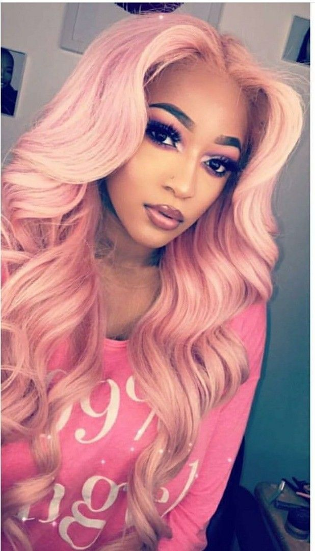 Sew In Weave Hairstyles With Color Pink Clipinextenions Tapeinextensions Hairextensions Bundles Sewin Weave Hairstyles Sew In Weave Hairstyles Hair Styles