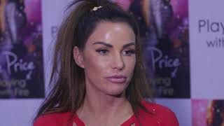 Katie Price Breathes Fire at Book Launch | Playing with Fire