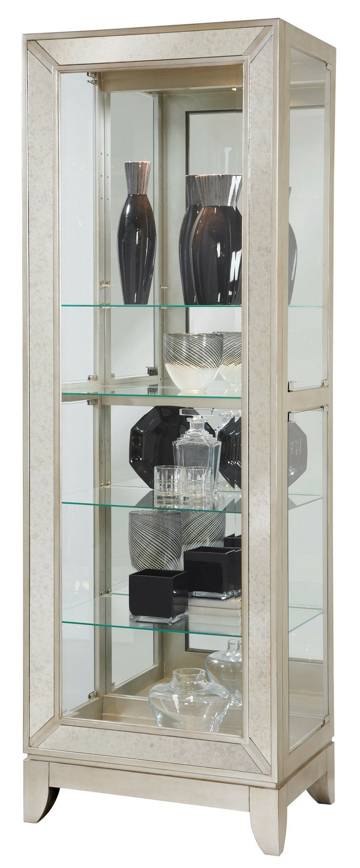 65 best curios bookcases and china cabinets images on pinterest curios platinum side entry curio by pulaski furniture at wayside furniture