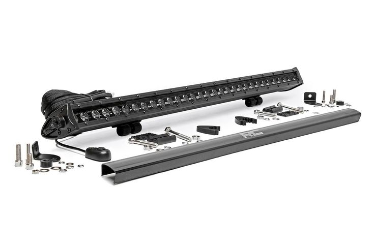 30-inch Single Row Cree LED Black Series Light Bar [70730BL] | Rough Country Suspension Systems®