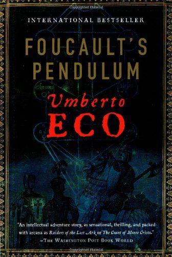 Foucault's Pendulum... Umberto Eco