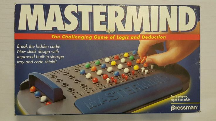 Mastermind Board Game 1996 Game of Logic #B22 in Toys & Hobbies, Games, Board & Traditional Games | eBay