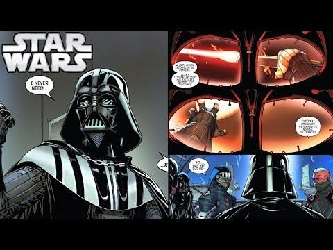 Spread the love - Compartir en Redes Sociales Darth Vader SURVIVES Mon Cala and HUNTS the Jedi (CANON) In today's new Darth Vader comic issue 15 we get the follow up of what happened in the last issue, where Vader and the inquisitors were drowned