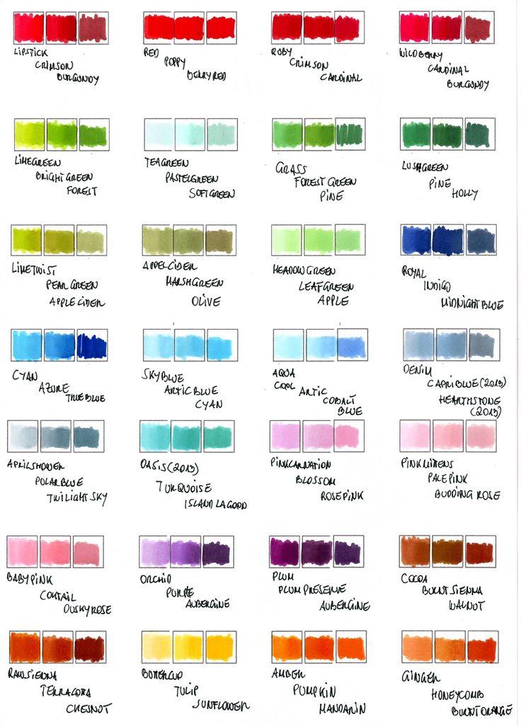 ToM: Farbkombos / color combos