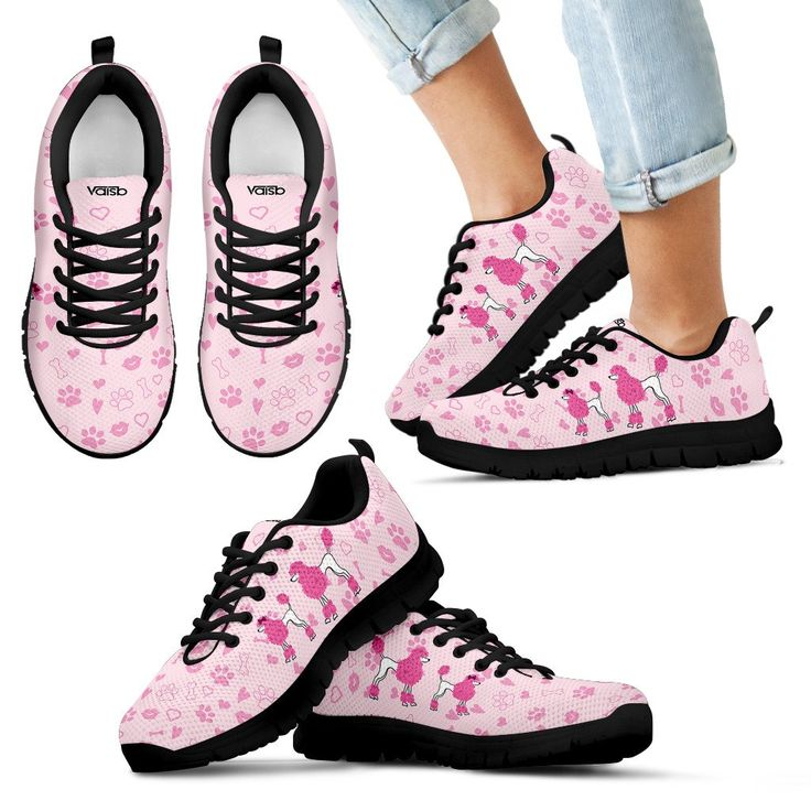 Cute Poodle - KIDS Breathable And Lightweight Running Shoes