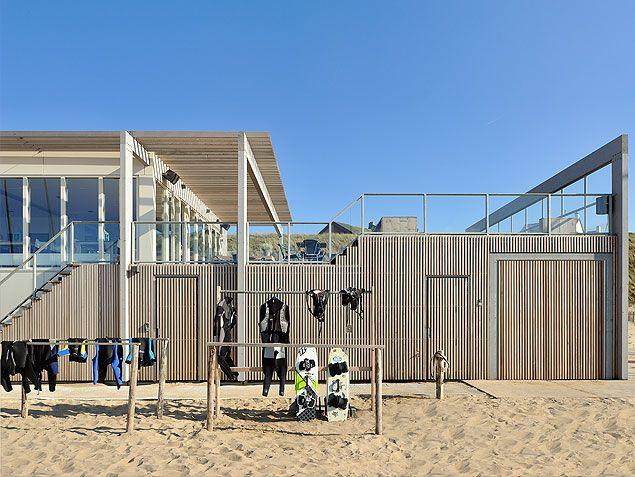 ontwerp strandhuis Zandvoort - havengebouw door architect bnla.nl