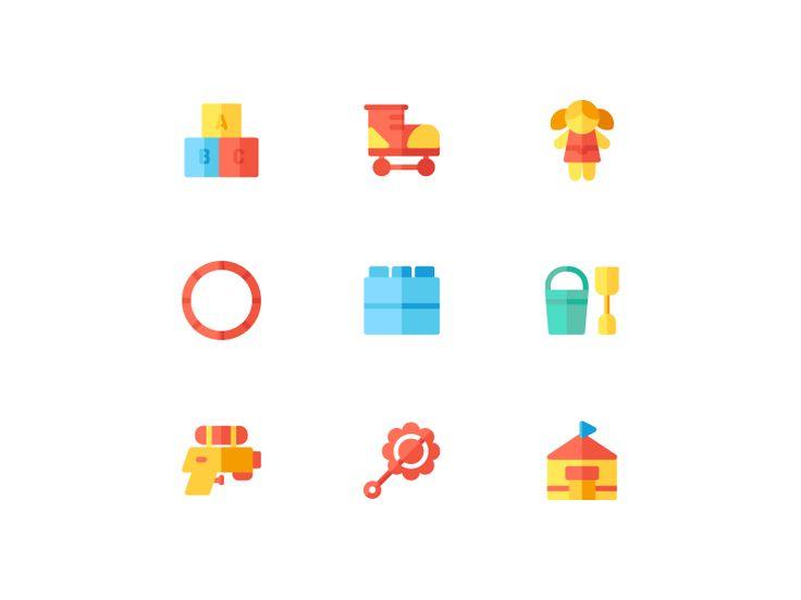 Toys Icon (Flat) B