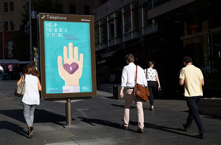 Australian Cancer Research Foundation on Behance