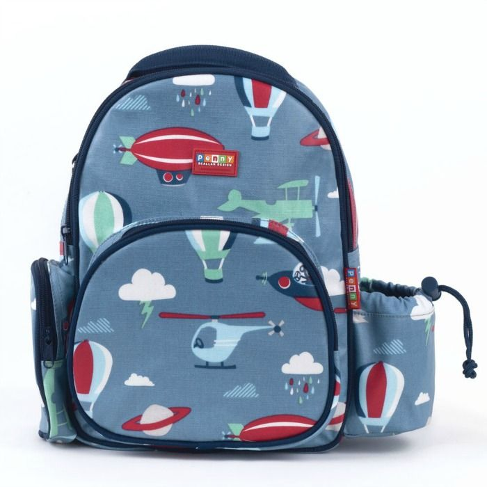 Penny Scallan- Kids Backpack- Medium Backpack {Space Monkey}