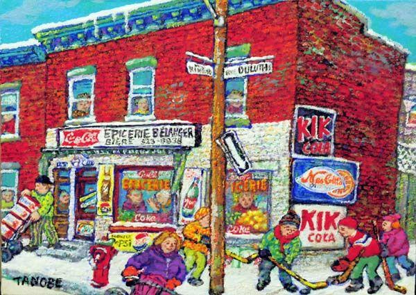 Miyuki TANOBE - L'épicerie de la rue Duluth