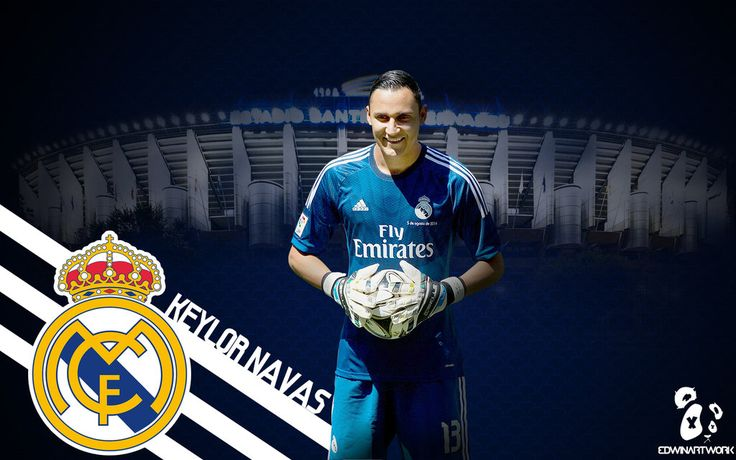 Keylor Navas Wallpaper 2016 - Real Madrid by ledioc10 on DeviantArt